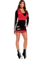 Adult High Speed Hottie Racer Girl Costume