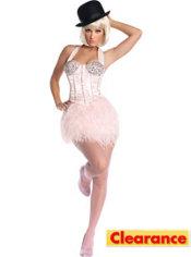 Adult Burlesque Ballerina Costume Deluxe