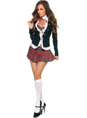 Adult Naughty School Girl Costume