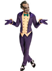 Adult Arkham City Joker Costume