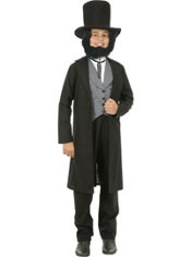 Teen Boys Abe Lincoln Costume