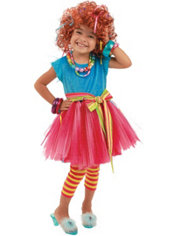 Toddler Girls Frilly Lilly Costume