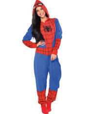 Adult Spider-Man One Piece Pajama