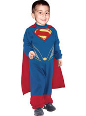Toddler Boys Tiny Tikes Superman Costume - Man of Steel