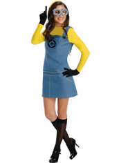 Adult Minion Costume - Despicable Me 2