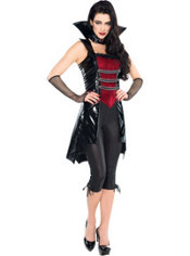 Adult Midnight Vixen Vampire Costume