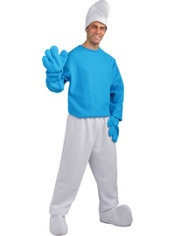 Adult Smurf Costume Deluxe - The Smurfs 2