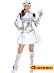 Adult Stormtrooper Dress Costume - Star Wars
