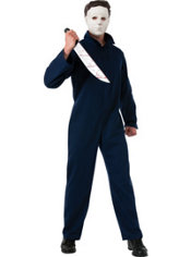 Adult Michael Myers Costume Deluxe - Halloween
