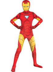 Boys Iron Man Morphsuit