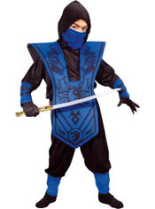Boys Ninja Lord Costume