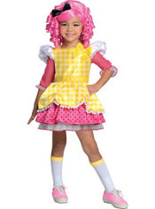 Toddler Girls Crumbs Sugar Costume Deluxe - Lalaloopsy