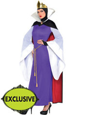 Adult Evil Queen Costume - Snow White and the Seven Dwarfs