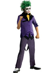 Boys Joker Costume - The Dark Knight Batman