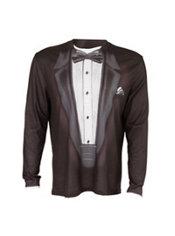 Adult Black Tuxedo T-Shirt