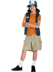 Boys Dipper Pines Costume - Gravity Falls