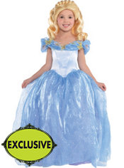 Girls Cinderella Costume - Disney Cinderella