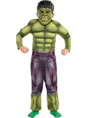 Boys Small Hulk Muscle Costume - Avengers: Age of Ultron
