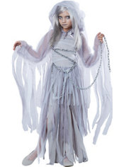 Girls Haunting Beauty Ghost Costume