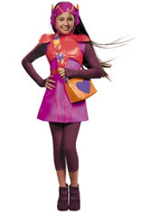 Girls Honey Lemon Costume Deluxe - Big Hero 6