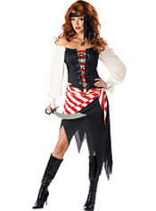 Adult Ruby The Pirate Costume