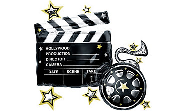 Hollywood Clapboard Balloon 29in