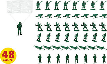 Army Men Favors Mega Value Pack 48ct