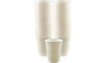 BOGO Vanilla Cream Plastic Cups 50ct