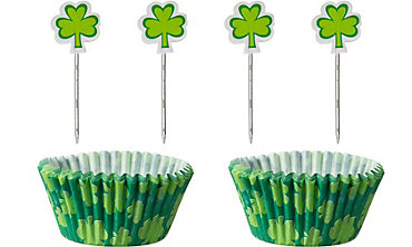 St. Patricks Day Cupcake Combo Pack for 24