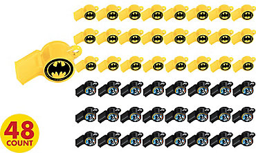 Batman Whistles 48ct