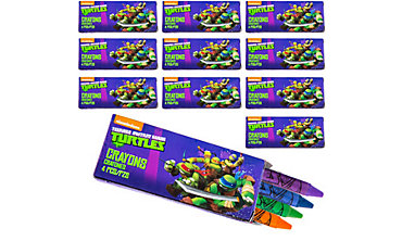 Teenage Mutant Ninja Turtles Crayons 48ct