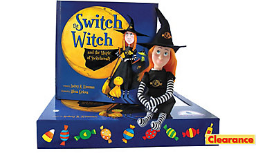 Switch Witch Doll with Storybook