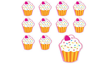 Candy Shoppe Cupcake Notepads 48ct