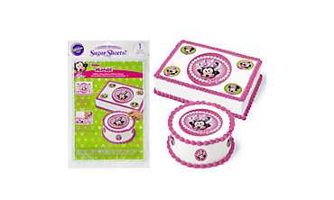 Minnie Mouse Sugar Sheet