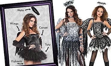Dark Angel Mix & Match Women's Looks
