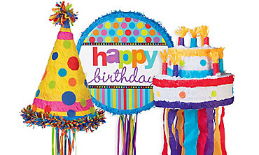 Happy Birthday Pinatas