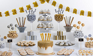 Silver and Gold Sweets and Treats