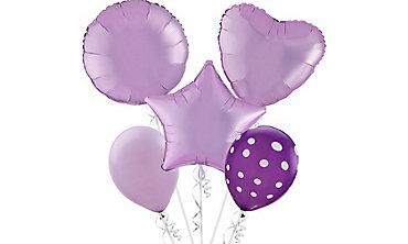 Lavendar Balloons