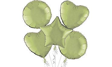 Leaf Green Balloons
