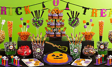 kid friendly halloween sweets treats - Halloween Birthday Decorations