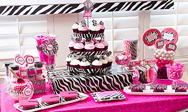 Pink & Black Graduation Baking Supplies