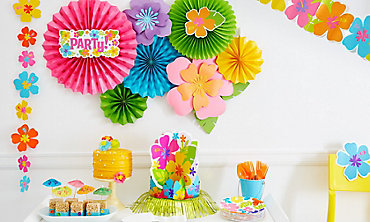 summer hanging decorations - Party City Decorations