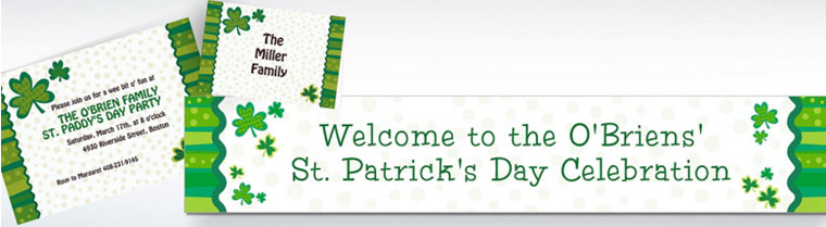 Custom St. Patrick's Day Invitations & Thank You Notes