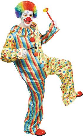 Men S Clown Accessories Party City