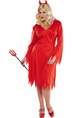Adult Red Devil Costume Plus Size