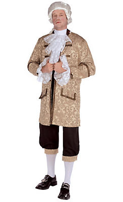 Adult Colonial Man Costume Deluxe