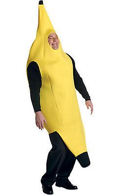Adult Banana Costume Plus Size