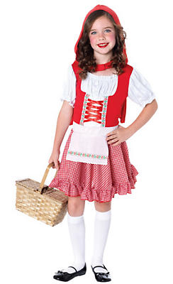 Toddler Girls Lil Miss Red Riding Hood Costume
