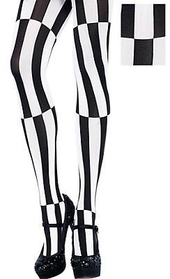 Adult Mesmerizing Striped Pantyhose