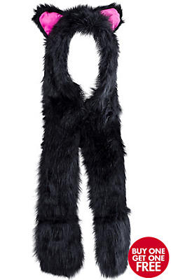Black Cat Snood
